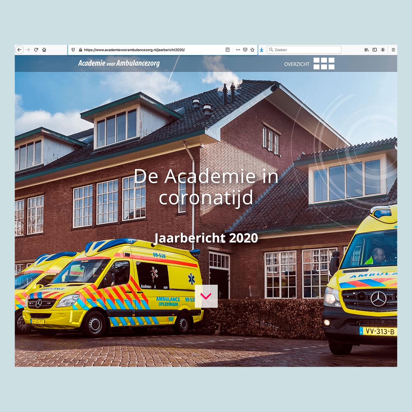 Academie voor Ambulancezorg Jaarbericht 2020